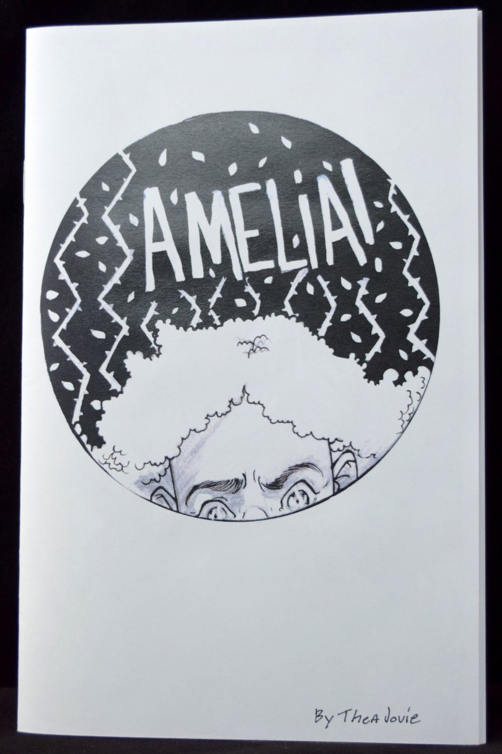 Amelia (2018) #1 by Thea J. Hunt. (front cover)