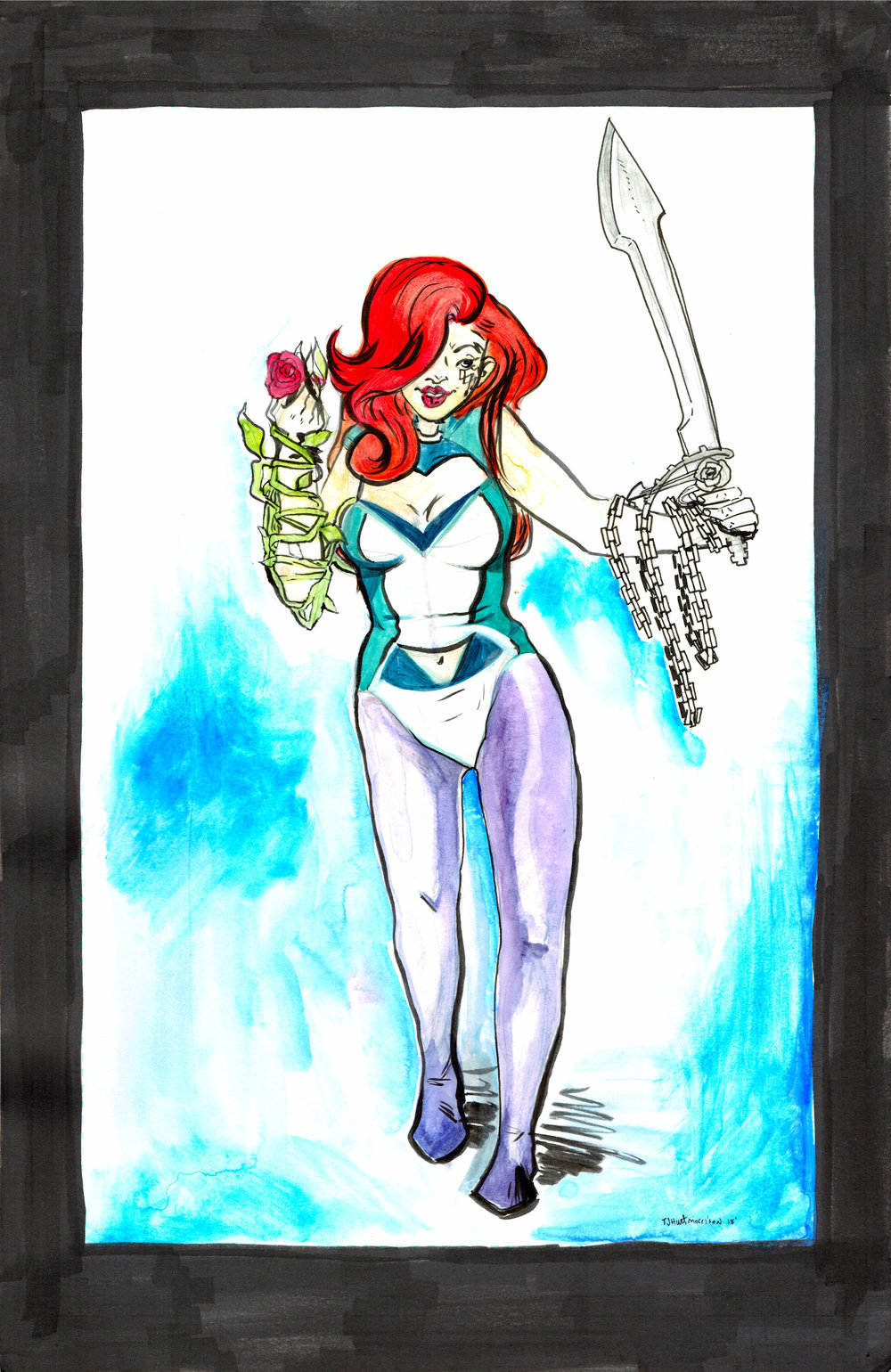 Dawn  - a recent commission from Thea J. Hunt.