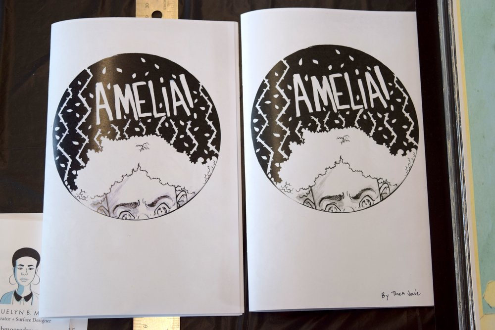 Amelia #1 by Thea J. Hunt, displayed at DINK 2018.