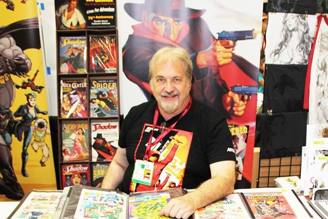 Anthony Tollin at SDCC 2014.