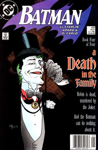 Batman (1940) #429, cover drawn by Mike Mignola and colored by Anthony Tollin.