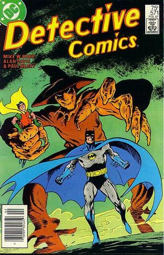 Detective Comics (1937) #571, Cover drawn by Alan Davis and colored by Anthony Tollin.