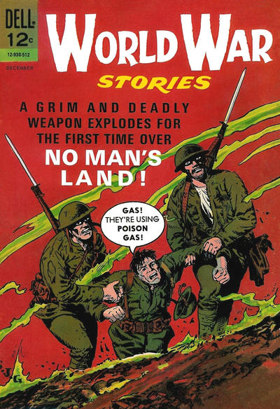 World War Stories (1965) #3, cover by Sam Glanzman.