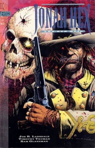Jonah Hex Two-Gun Mojo (1993) #1, cover penciled by Tim Truman & inked by Sam Glanzman.