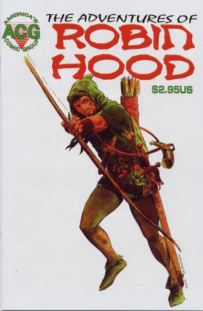 Adventures of Robin Hood (1991) #1, cover by Sam Glanzman.