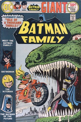Batman Family (1975) #3, cover by Ernie Chan.