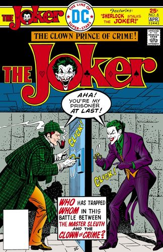 Joker (1975) #6, cover by Ernie Chan.