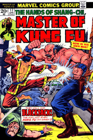 Master of Kung Fu (1974) #17, cover by Ernie Chan.