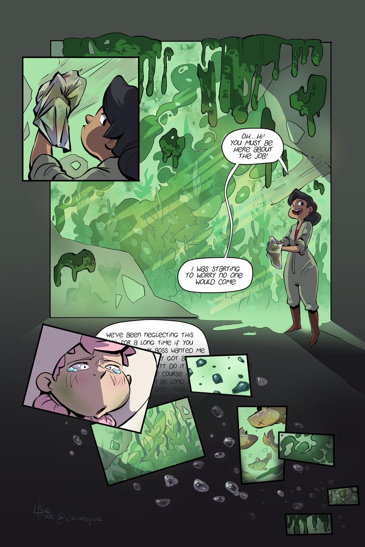 Tess & Jack #3 interior pg.13