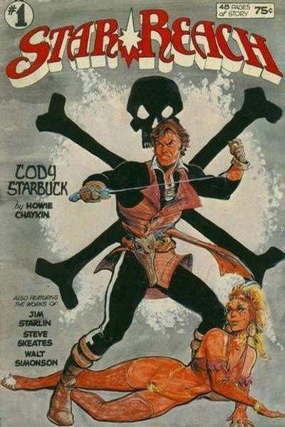 Star*Reach (1974) #1, featuring a story written by Steve Skeates.
