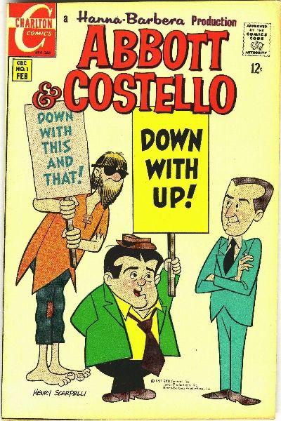 Abbott & Costello (1968) #1, featuring stories written by Steve Skeates.