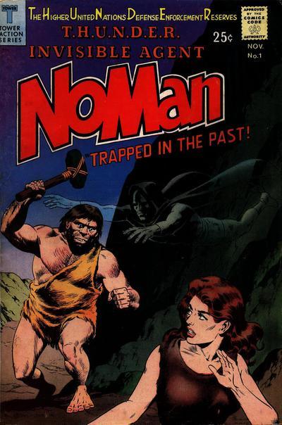 NoMan (1966) #1, featuring stories written by Steve Skeates.