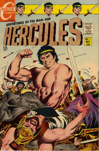 Hercules (1967) #1, featuring the first Thane of Bagarth back-up story by Steve Skeates.