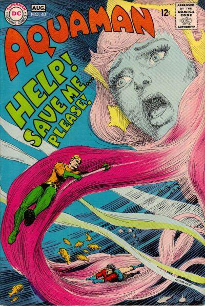 Aquaman (1962) #40, written by Steve Skeates.