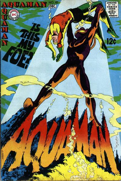 Aquaman (1962) #42, written by Steve Skeates.