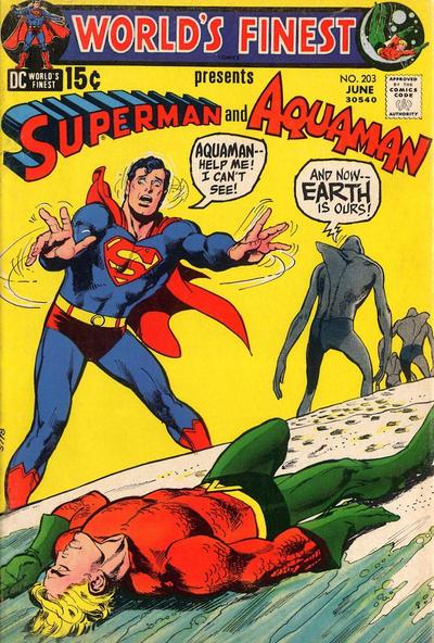 World's Finest Comics (1941) #203, written by Steve Skeates.
