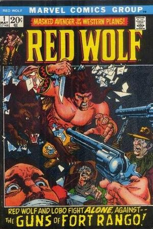 Red Wolf (1972) #1, written by Mike Friedrich.