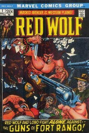 Red Wolf (1972) #1, written by Mike Friedrich.