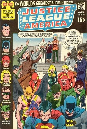 Justice League of America (1960) #88, written by Mike Friedrich.