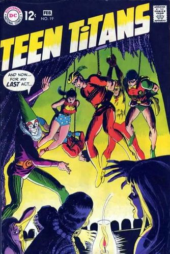 Teen Titans (1966) #19, written by Mike Friedrich.