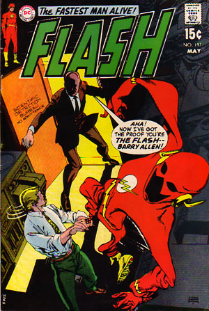 The Flash (1959) #197, written by Mike Friedrich.