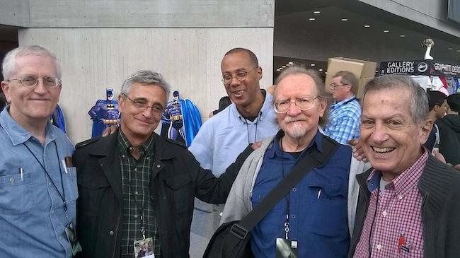Todd Klein, Clem Robbins, David Marshall, Tom Orzechowski, & Gaspar Saladino