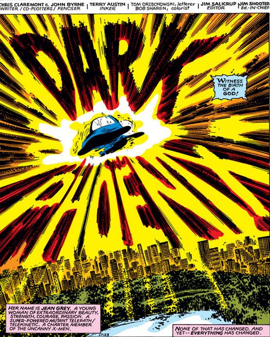 X-Men (1963) 135 pg.1, lettered by Tom Orzechowski.