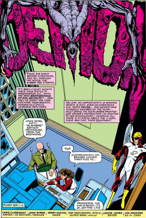 Uncanny X-Men (1981) #143 pg.5, lettered by Tom Orzechowski.