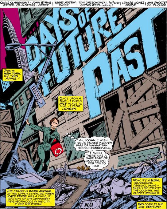 X-Men (1963) #141 pg.1, lettered by Tom Orzechowski.