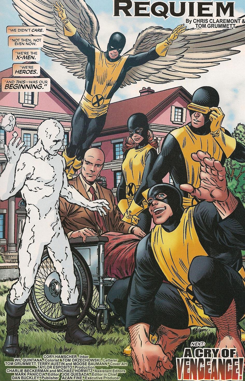 X-Men Forever (2009) #24 pg.1,lettered by Tom Orzechowski.