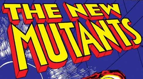The New Mutants logo designed by Tom Orzechowski.