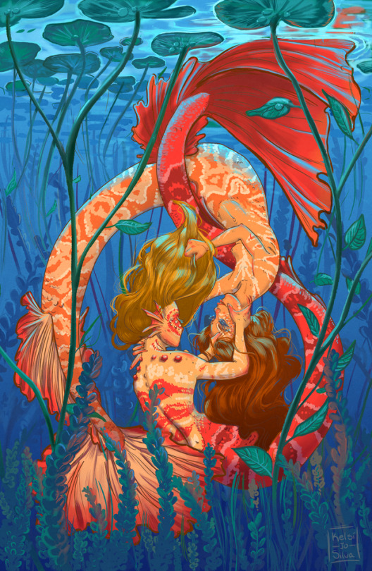 Mermaids by Kelsi Jo Silva.