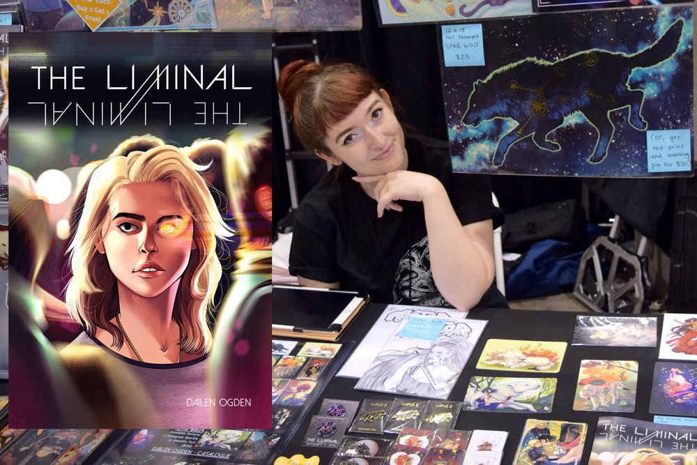 Magic & Mystery In the World of The Liminal - An Interview With Dailen Ogden (Phoenix Comic Fest 2018)   Written by Neil Greenaway