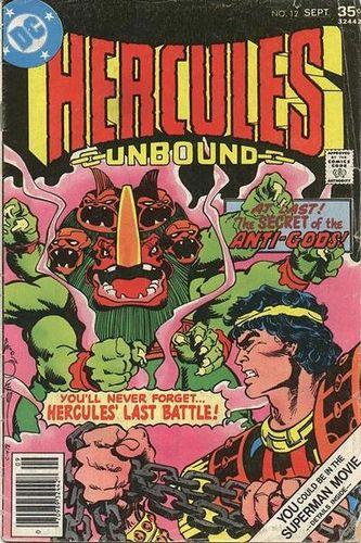 Hercules Unbound (1975) #12, cover by Walt Simonson.