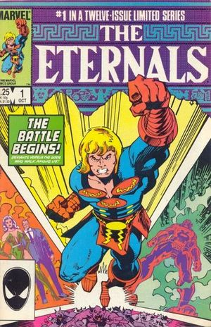 Eternals (1985) #1, cover by Walt Simonson.