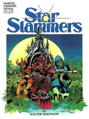 Marvel Graphic Novel (1982) #6 - Star Slammers by Walter Simonson.