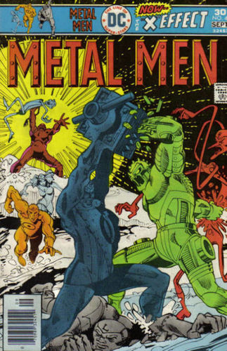 Metal Men (1963) #47, cover by Walt Simonson.
