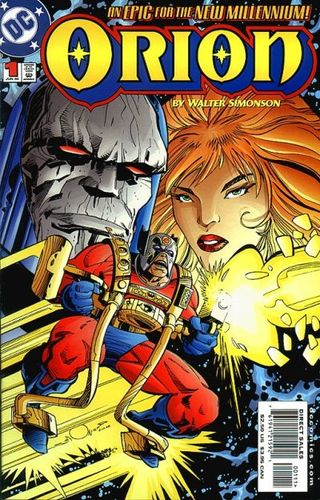 Orion (2000) #1, cover by Walt Simonson.