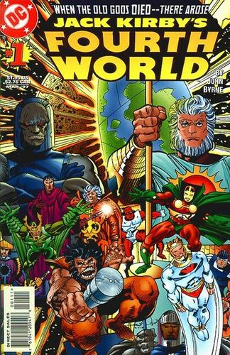 Jack Kirby's Fourth World (1997) #1, cover by Walt Simonson.