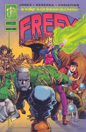 Freex (1993) #1, cover by Walt Simonson.