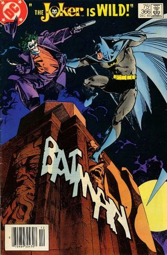 Batman (1940) #366, cover by Walt Simonson.