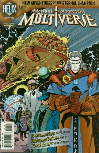 Multiverse (1997) #1, cover by Walt Simonson.
