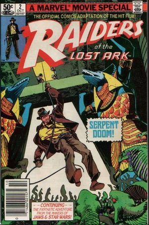 Raiders of the Lost Ark (1981) #2, cover by Walt Simonson.