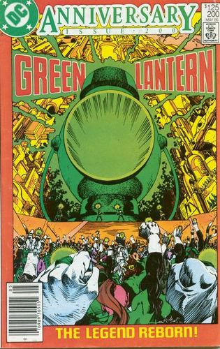 Green Lantern (1960) #200, cover by Walt Simonson.