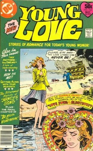 Young Love (1949) #125, cover by Walt Simonson.