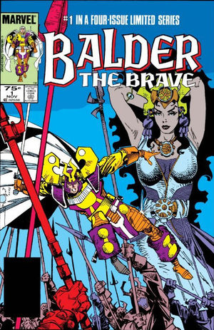 Balder the Brave (1985) #1, cover by Walt Simonson.