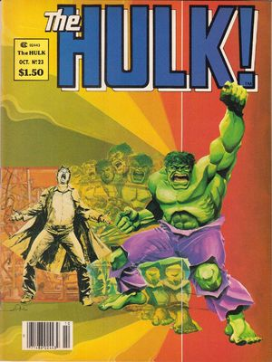 Hulk! (1978) #23, cover by Walt Simonson.