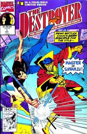 Destroyer (1991) #1, cover by Walt Simonson.