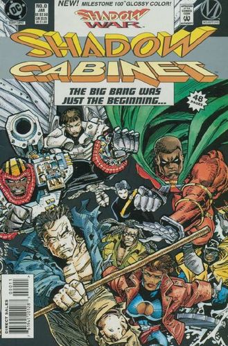 Shadow Cabinet (1994) #0, cover by Walt Simonson.