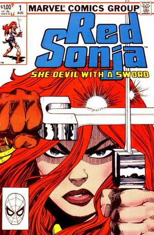 Red Sonja (1983) #1, cover by Walt Simonson.
